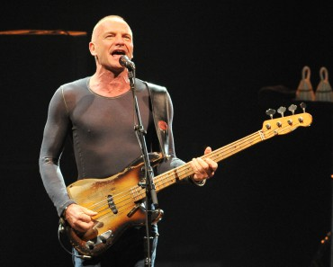 Sting's Back To Bass Tour Opening Night
