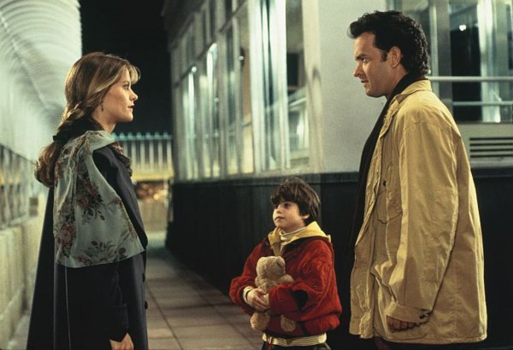 "This image released by 1993 TriStar Pictures, Inc. shows Meg Ryan as Annie Reed, left, Ross Malinger as Jonah Baldwin and Tom Hanks as Sam Baldwin, right, in a scene from ""Sleepless in Seattle,"" a film written and directed by Nora Ephron. Ephron, the essayist, author and filmmaker who challenged and thrived in the male-dominated worlds of movies and journalism and was loved, respected and feared for her devastating and diverting wit, died Tuesday in Manhattan. She was 71. Born into a family of screenwriters, a top journalist in her 20s and 30s, then a best-selling author and successful director, Ephron was among the most quotable and influential writers of her generation. She wrote and directed such favorites as ""Julie & Julia"" and ""Sleepless in Seattle,"" and her books included the novel ""Heartburn,"" about her marriage to Washington Post reporter Carl Bernstein. (AP Photo/1993 TriStar Pictures, Inc.)"
