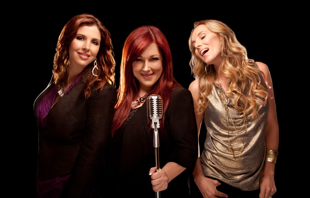 """Wendy Wilson, Carnie Wilson and Chynna Philiips star in their new reality show """"Wilson Phillips: Still Holding On."""" ©TV Guide Network. CR: Steward Volland"""