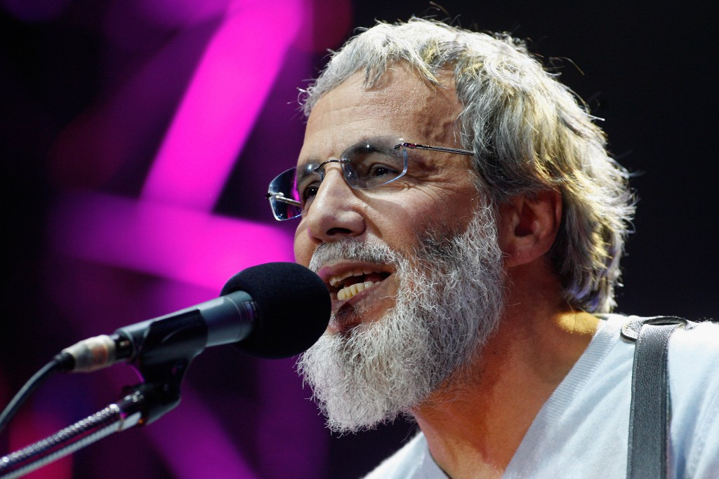 LONDON, ENGLAND - SEPTEMBER 21:  Yusuf Islam performing at The Peace One Day Celebration 2011 on September 21, 2011 in London, United Kingdom.  (Photo by Jo Hale/Getty Images)