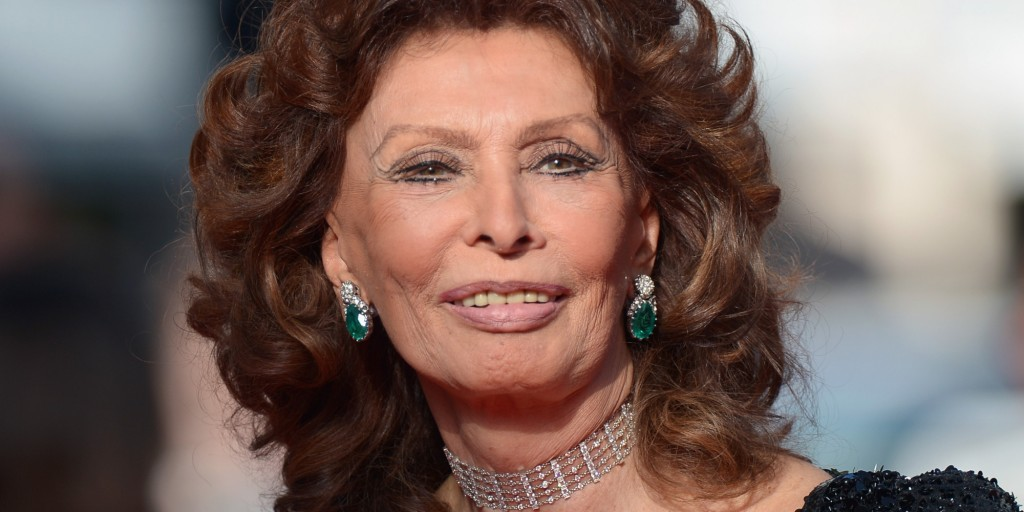 "CANNES, FRANCE - MAY 24:  Sophia Loren attends the Closing Ceremony and ""A Fistful of Dollars"" Screening during the 67th Annual Cannes Film Festival on May 24, 2014 in Cannes, France.  (Photo by Dominique Charriau/Le Film Francais/WireImage)"