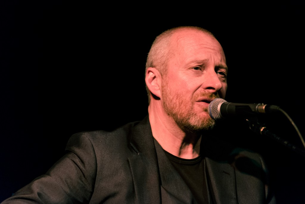 EDINBURGH, UNITED KINGDOM - MAY 01: Colin Vearncombe also known as Black performs on stage at Voodoo Rooms on May 1, 2014 in Edinburgh, United Kingdom. (Photo by Roberto Ricciuti/Redferns via Getty Images)