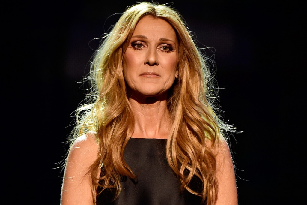 LOS ANGELES, CA - NOVEMBER 22: Singer Celine Dion performs onstage during the 2015 American Music Awards at Microsoft Theater on November 22, 2015 in Los Angeles, California. (Photo by Frazer Harrison/AMA2015/Getty Images for dcp)